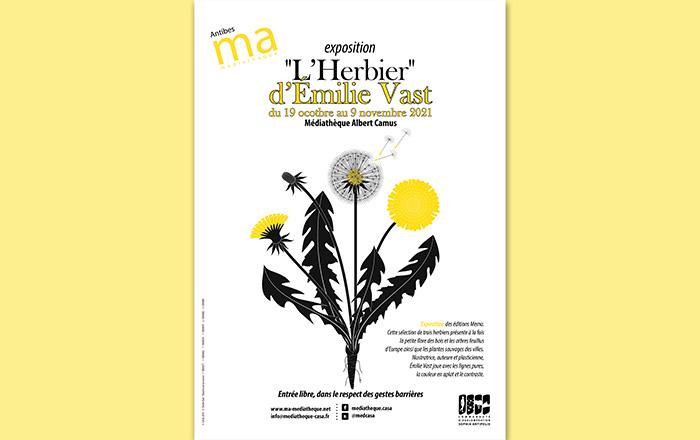 Exposition - L'herbier d'Émilie VAST |